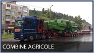 transport agabaritic - combine agricole