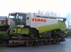 transport combina agricola Claas