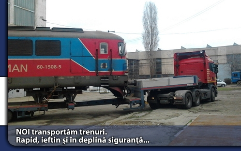 transport trenuri